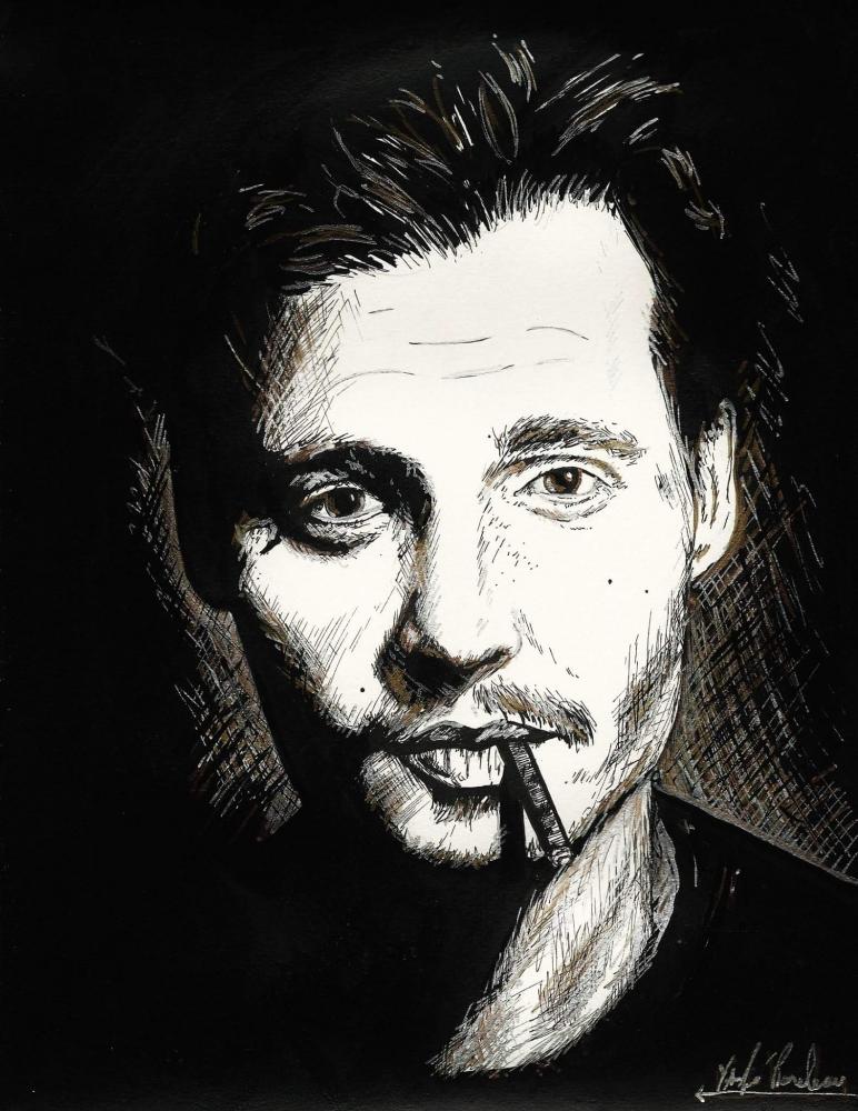 Johnny Depp by elles14